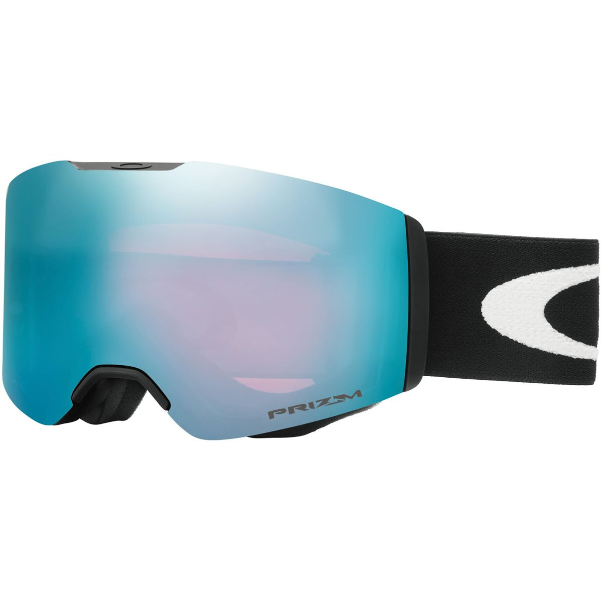 Oakley Fall Line Snow Goggles, Matte Black Frame, Prizm Sapphire Lens, Medium by Oakley