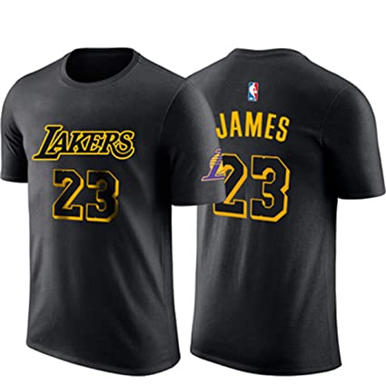 Camiseta para Hombre De La NBA L.A Lakers James # 23 Basketball ...