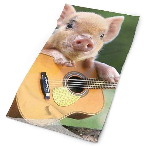 Amazon.com: Pig Play - Máscara de guitarra, multiusos, banda ...