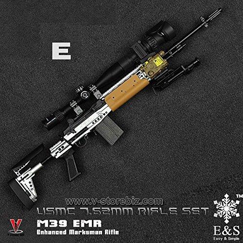 買取】M39 EMR USMC7 62mmライフルセット 1/6 アクション