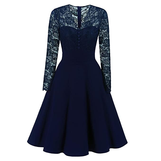 Morwind vestido vintage,vestido largo brillante escotado delante cuello de pico vestido de fiesta manga