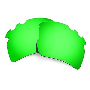 HKUCO Mens Replacement Lenses For Oakley Flak 2.0 Sunglasses Emerald Green Polarized sI2tu1kt