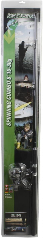 RON THOMPSON explore Combo Spin juego de caña de pescar + ...