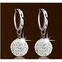 Demarkt Pendientes de Diamantes de Imitación Pendientes