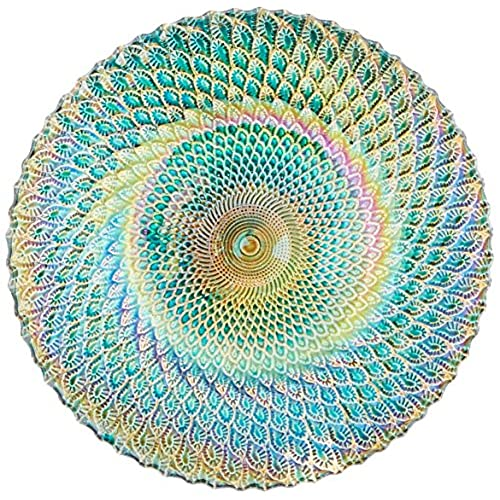 Zingz and Thingz Iridescent Small Decorative Plate  sc 1 st  Amazon.com & Decorative Plates: Amazon.com