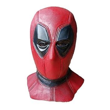 LZX Deadpool Mask, Movie DP Disfraz De Halloween Máscara De La ...