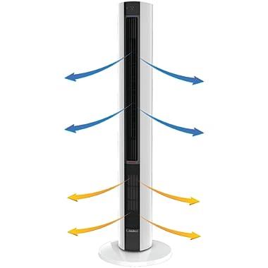 Lasko Fan & Space Heater Combo Tower, 42 inch, FH500