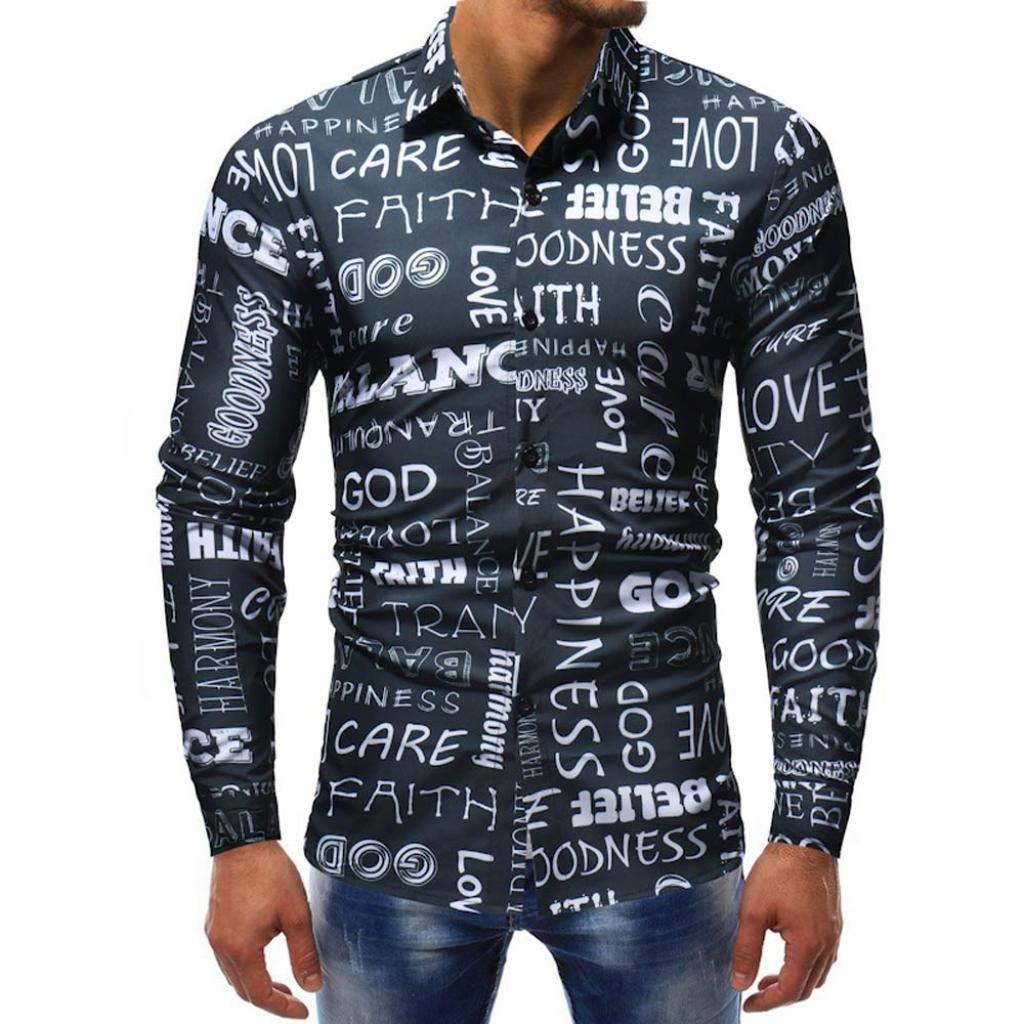 Dragon868 más Reciente Moda 2018 Camisas Boys Hombres otoño Blusa: Amazon.es: Ropa y accesorios
