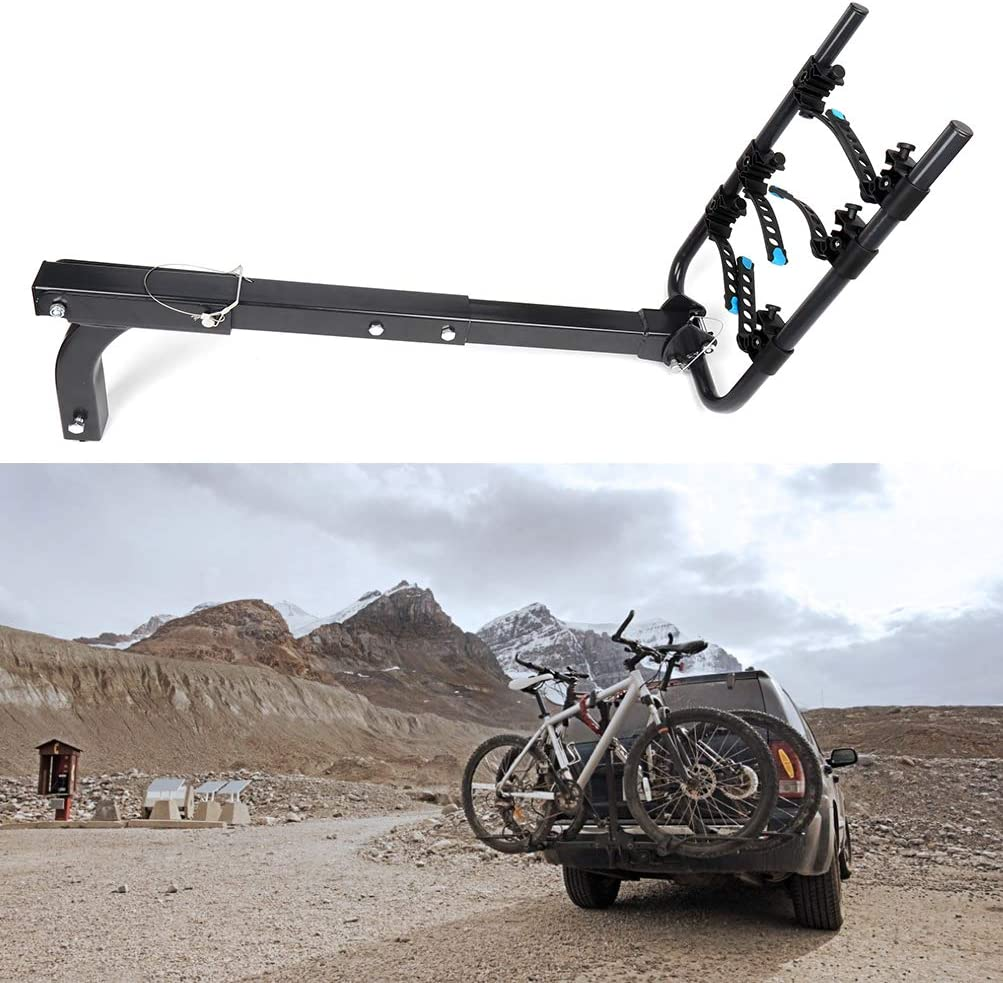 Minivans ECCPP 3 Bike Hitch Rack Bike Carrier Quick Release 2 Inch Receiver Heavy Duty Bicycle Carrier Racks for Cars,SUV