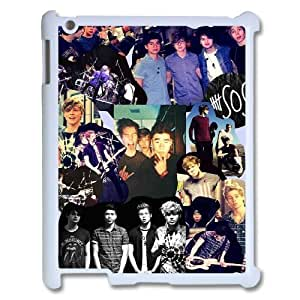 Custom High Quality WUCHAOGUI Phone case 5SOS music band Protective Case For Ipad 2/3/4 Case - Case-8 by ruishername