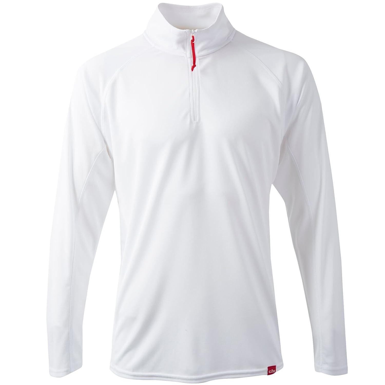 Mens Charcoal Polo UPF50 Shirt Top Long Sleeve
