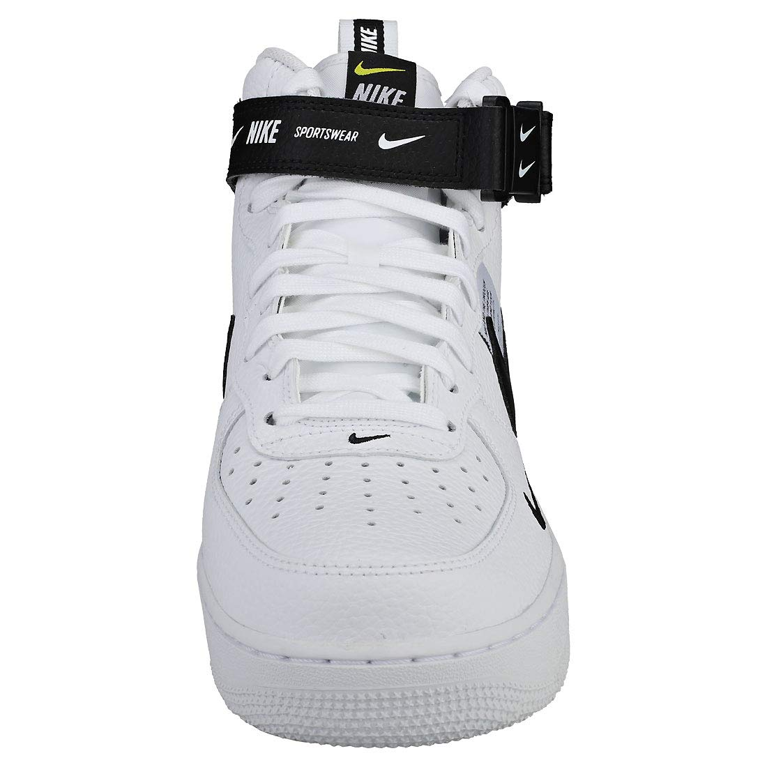 pretty nice 4fc08 57d0b NIKE Air Force 1 Mid 07 Lv8 Mens Trainers White Black - 10 UK   Amazon.co.uk  Shoes   Bags