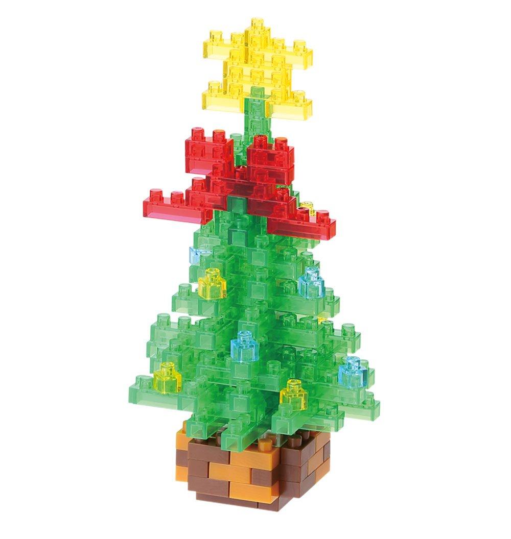 Amazon Nano Block Christmas Tree 2015 Nbc155 Toys Games