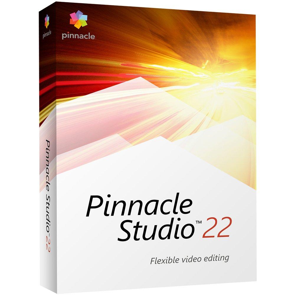 Pinnacle Studio 22 - Video Editing [PC Disc] [Old Version] by Pinnacle