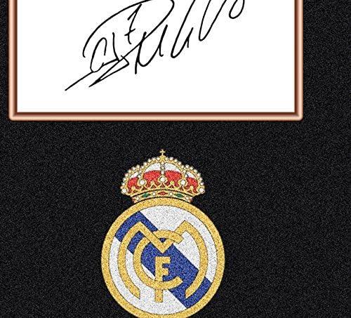 Cristiano Ronaldo Signed Autograph Real Madrid Star Kuriosit/äten mit Rahmen 00200