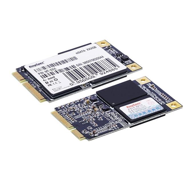 Kingspec 128 GB mSATA Unidad de Estado sólido Interno para Mesa PC ...