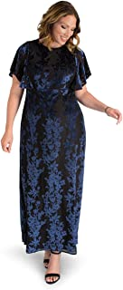 product image for Kiyonna Women's Plus Size Parisian Dream Evening Gown