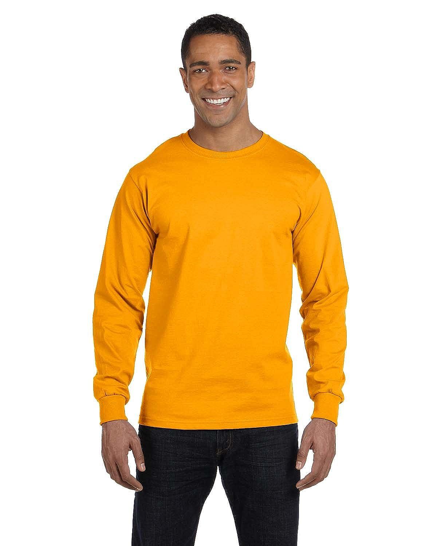 Amazon.com: Fruit Of The Loom Mens Lofteez HD Long-Sleeve T-Shirt ...