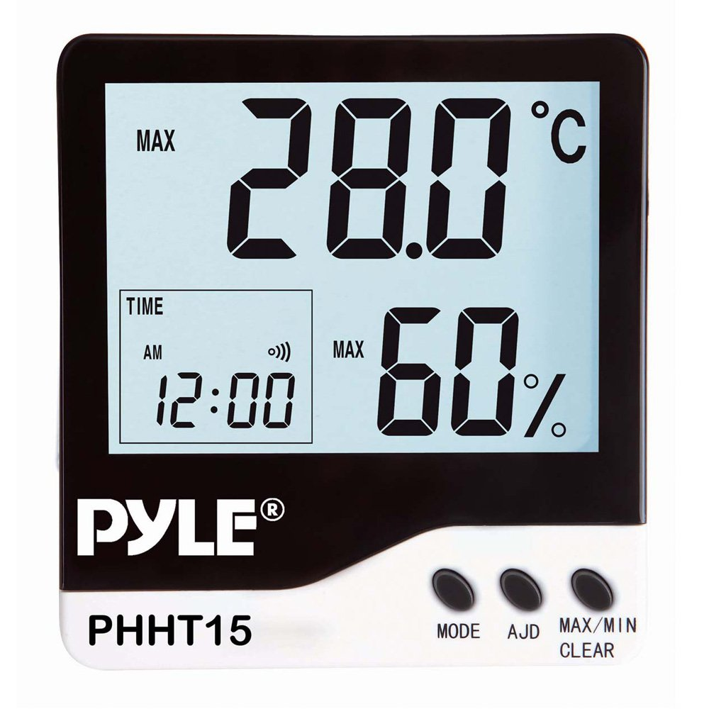 PYLE Meters PHHT15 Indoor Digital Hygro-Thermometer