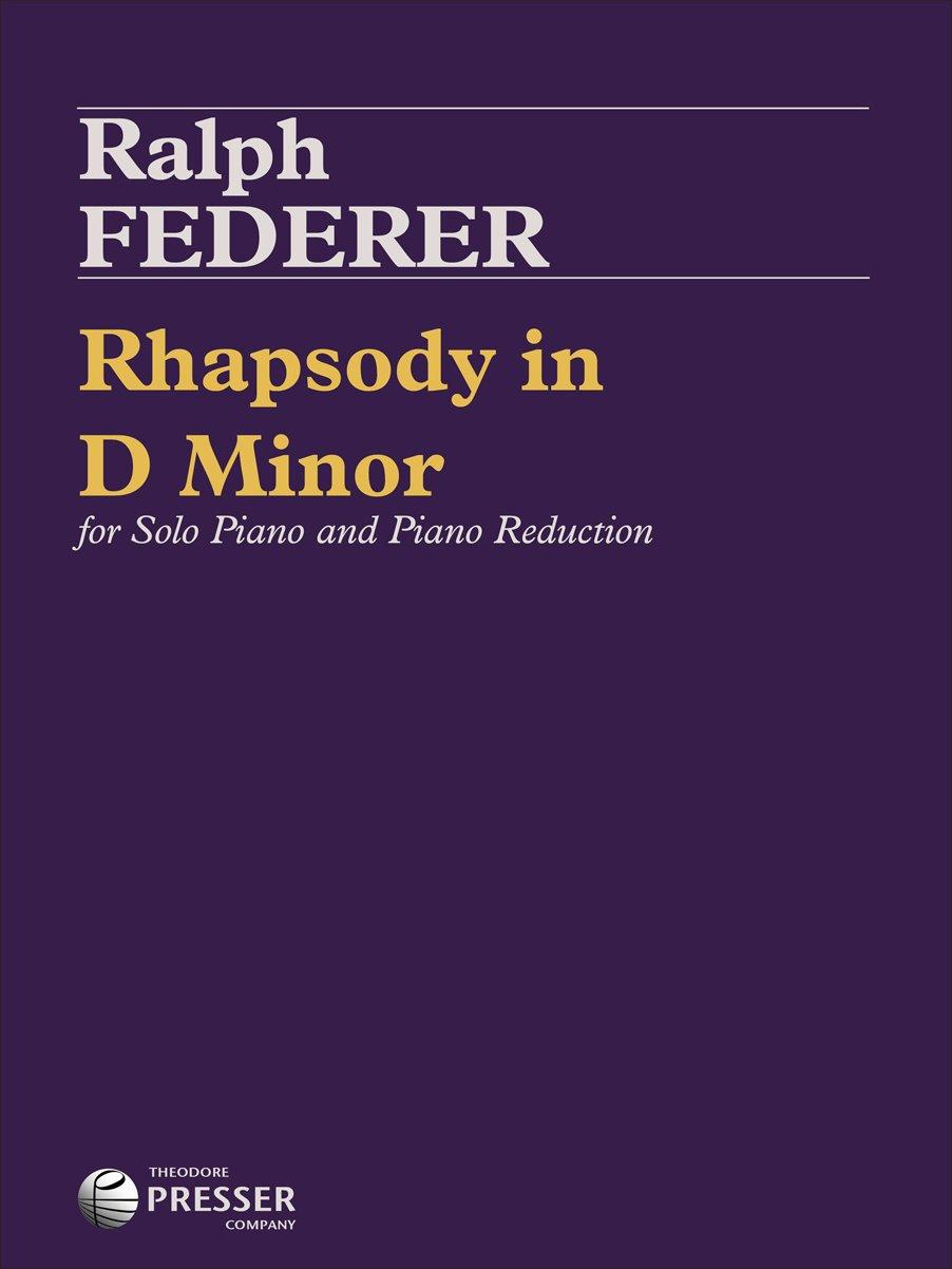 Read Online Rhapsody In D Minor PDF