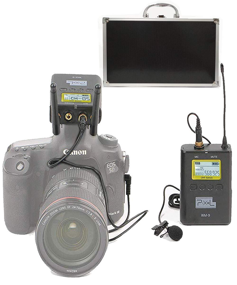 L1 3.5mm Micr/ófono de Condensador omnidireccional Micr/ófono de grabaci/ón C/ámara Lavalier Micr/ófono para Canon Nikon Sony DSLR C/ámaras de Video iOS Smartphones Grabadores de Audio