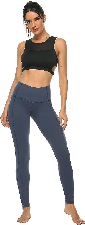Persit Damen Sport Leggings Gym Wear Perfekte Passform Ideal f/ür Yoga Fitness Sport Pilates Laufen