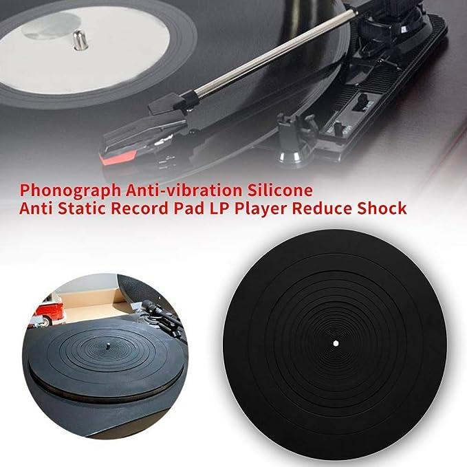 Paletur0 Registro Almohadilla LP Reproductor Anti Estática Reduce ...
