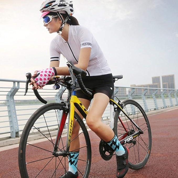 Momorain Calcetines de Ciclismo Deportes Bicicleta Correr Clases ...