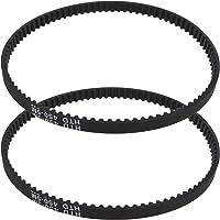 2X Maaier Aandrijfriem Rubber Synchrone Gesloten Loop Timing Riemen 8.3mm Breedte 5mm Pitch Fit voor BOSCHRotak 32 Elan…