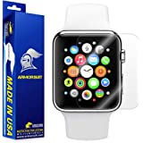 Apple Watch 38mm Screen Protector (Series 2) [Full Coverage] [2 Pack] ArmorSuit MilitaryShield w/ Lifetime Replacements - Anti-Bubble, Ultra HD Screen Protector For Apple Watch 2 38mm