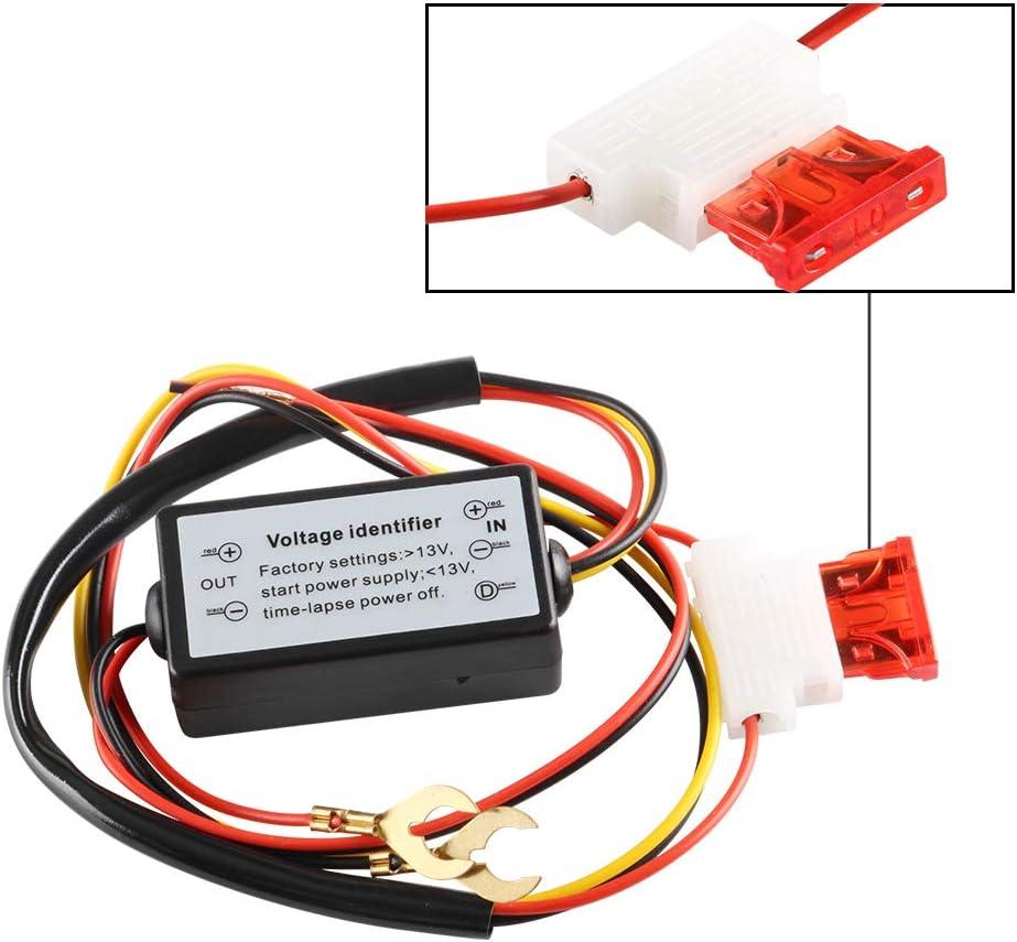 OUSUC Contr/ôleur de feux de circulation diurne LED intelligent//variateur//retard//arr/êt automatique 12 V pour voiture Eagle Eye DRL Modifi/é universel