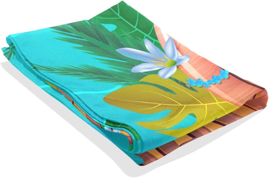 REFFW Fleur Color/é Hawaiian Aloha 60x40 Pouce pour Salon Dortoir Doux Art D/écor Tenture Murale Tapisserie Tapisserie D/écoration de La Maison