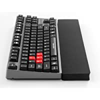 GRIFITI Fat Wrist Pad 14 x 2.75 x 0.75 Inch Black is a Thinner Wrist Rest for 10keyless Keyboards and Mechanical Keyboards Black Nylon Surface