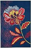 Cheap Mohawk Home Soho Amaranda Floral Printed Area Rug, 5'x8′, Navy Blue