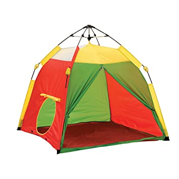 Pacific Play Tents Kids One Touch Tent UV Treated Primary Colors - 48u0026quot;  sc 1 st  Amazon.com & Amazon.com: Pacific Play Tents Kids One Touch Tent UV Treated ...
