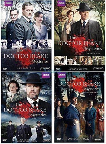 Doctor Blake Mysteries: Complete Series Seasons 1-4 DVD by Media DVD