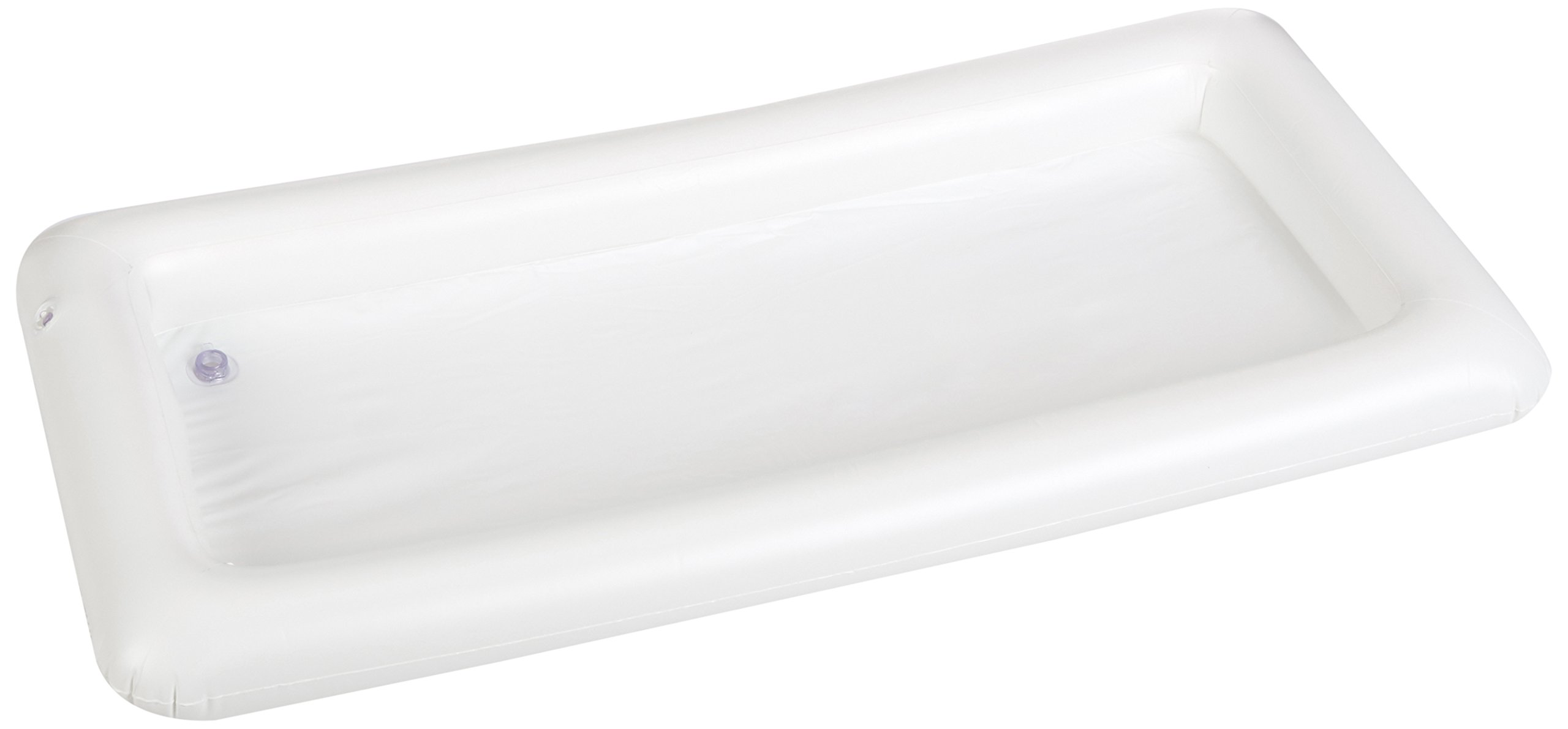 Greenco Inflatable Buffet and Salad Serving Bar With Drain Plug- White by Greenco