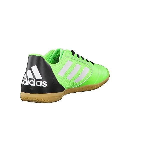 new arrival 03321 4cecb ... Adidas aCE 17.4 Sala - Chaussures Football Salle Homme, Vert - (Versol  Ftwbla Negbas ...