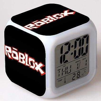 WQWQ Despertador Reloj Despertador LED Reloj Despertador electronico Digital Juego de Realidad Virtual Lámpara de Noche