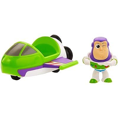 Toy Story Disney/Pixar Mini Buzz Lightyear and Spaceship: Toys & Games