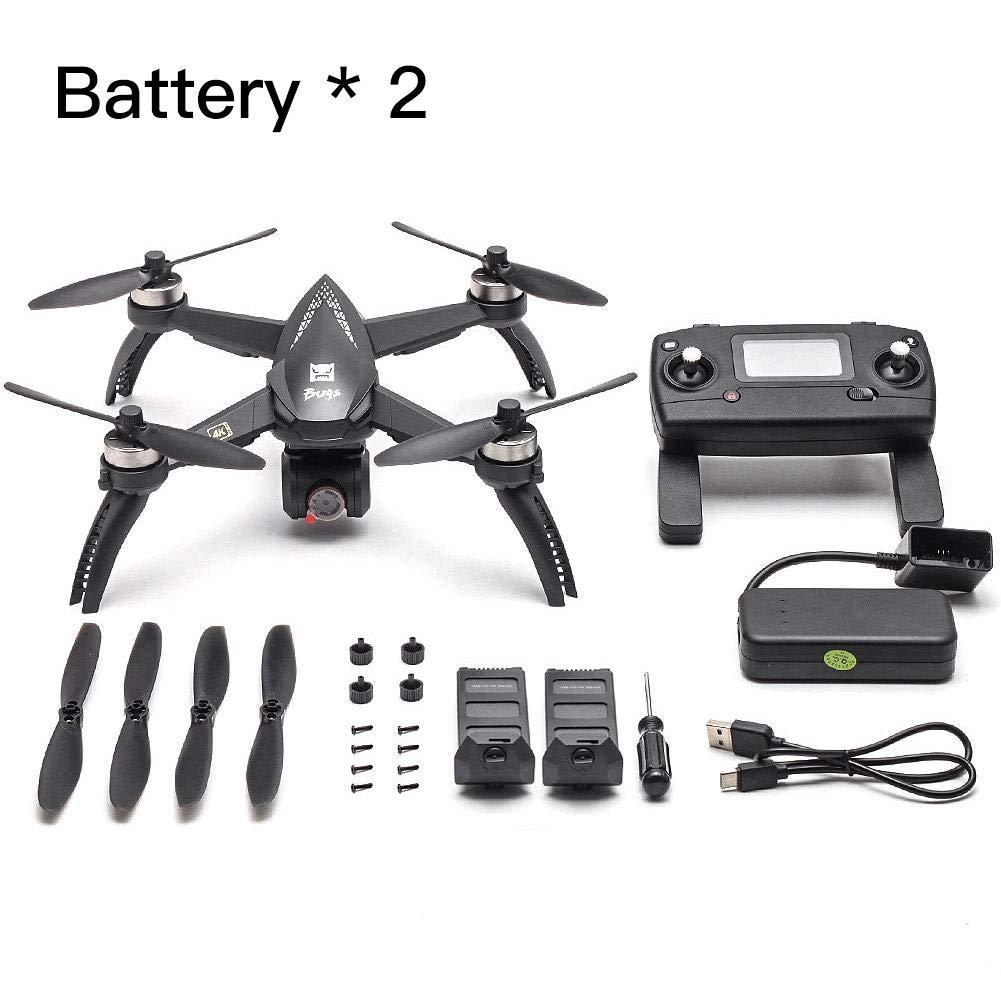 Janny-shop RC Quadcopter Plegable 5W Bugs 8G 4K Drone con Batería ...
