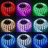LED light, Ikevan 2Pcs USB Powered RGB 5050 LED Strip Lighting For TV Computer Background Light