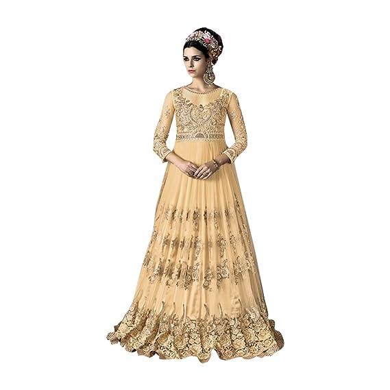 Muslim Traditionelles Kleid Damen Kleid Anarkali Party Kleid ...