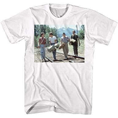 16bb9cedae9 Amazon.com  Stand By Me Men s Line Graphic T-Shirt  Clothing