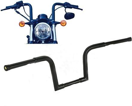 """Ape Hangers Bars Fat 1-1//4/"""" 12/"""" Rise Handlebars For Harley Sportster XL883 1200"""
