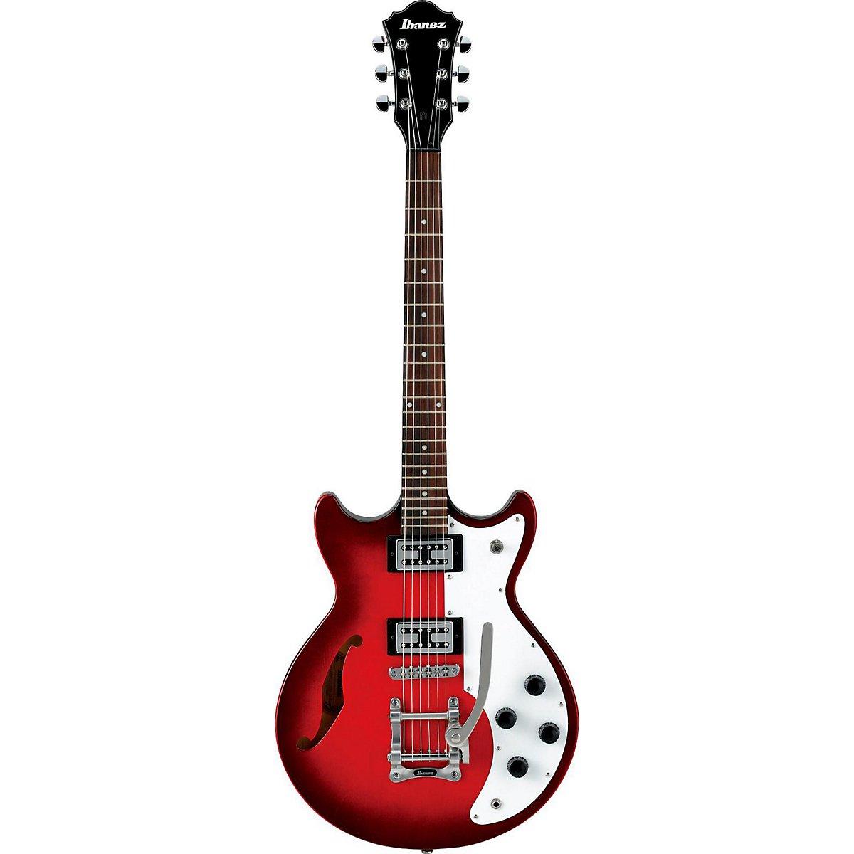 Ibanez amf73t Artcore Semi hueca cuerpo guitarra eléctrica (atardecer rojo): Amazon.es: Instrumentos musicales