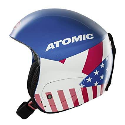 Atomic Redster Marcel Replica Alpine Race Ski Helmets (Blue - L)