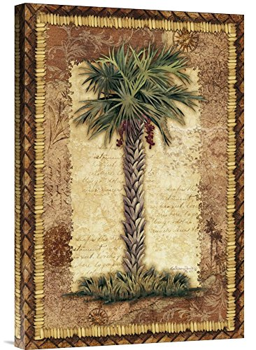 """Global Gallery GCS-125178-1624-142 """"Kathleen Denis Classic Palm Ii"""" Gallery Wrap Giclee on Canvas Print Wall Art from Global Gallery"""
