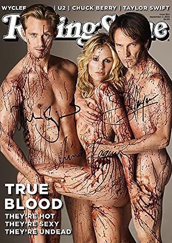 True Blood Tv Print (11.7 X 8.3) Stephen Moyer Anna Paquin Alexander Skarsgard (True Blood Gifts)
