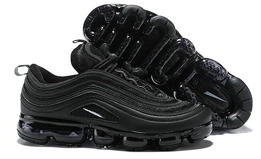 17e8fc2410 Maxstar Air Vapormax 97 Triple Black Mens Womens Running Shoes: Amazon.co.uk:  Shoes & Bags